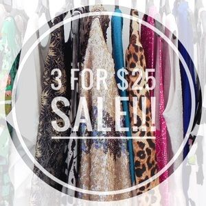 3 for $25 Sale!!! 🌻